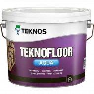 Краска «Teknos» Teknofloor Aqua, Base 1, 0.9 л