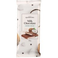 Шоколад молочный «Коммунарка» с кокосовой нугой, 85 г.