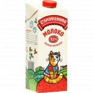 Молоко «Сарафаново» 3.2%, 970 мл.