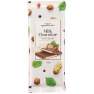 Шоколад молочный «Коммунарка» с ореховой нугой, 85 г.