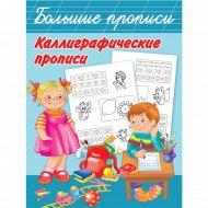 Книга «Каллиграфические прописи».