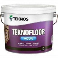 Краска «Teknos» Teknofloor Aqua, Base 3, 0.9 л