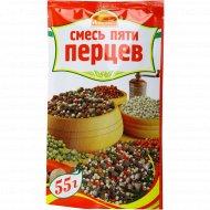 Приправа «Русский аппетит» смесь пяти перцев, 55 г.