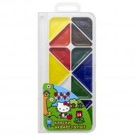 Акварель медовая «Hello Kitty» НКО-AWP-14/2-2, 14 цветов.