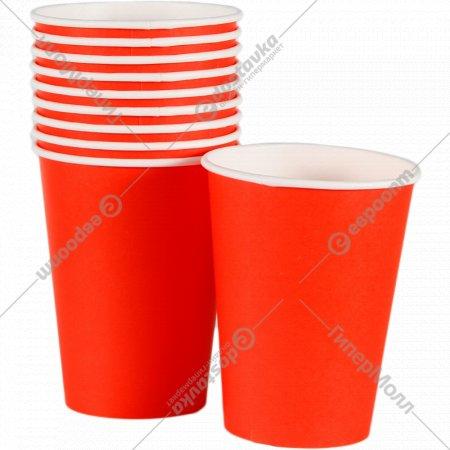 Стакан «Red» бумажный, HB90-430-0497, 300 мл, 50 штук.