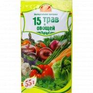 Приправа «15 трав и овощей» 55 г.