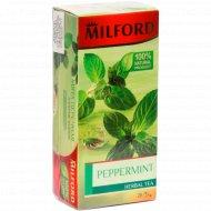 Чай фруктовый «Milford» мята, 20 пакетиков.