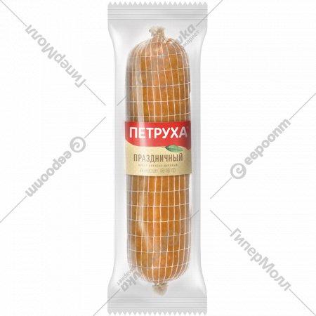 Продут из мяса птицы «Рулет праздничный» копчено-вареный, 1 кг., фасовка 0.8-1.1 кг
