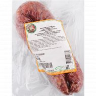 Колбаса сыровяленая «Белорусский гостинец» салями, высший сорт, 1 кг, фасовка 0.25-0.35 кг