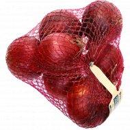 Лук репчатый красный свежий, 1 кг.