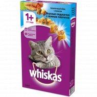 Корм для кошек «Whiskas» морское ассорти с нежным паштетом, 350 г.