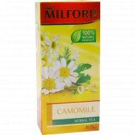 Чайный напиток «Milford» ромашка, 20 пакетиков, 30 г.