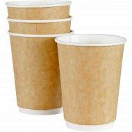Стакан «Сraft» бумажный двухслойный, DW90-430-0321, 300 мл, 25 штук.