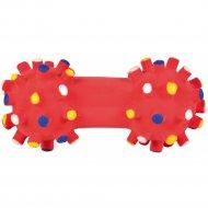 Игрушка из латекса «Trixie» для собаки, гантель, 10 см.