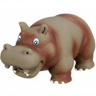 Игрушка из латекса «Trixie» для собаки, гиппопотам, со звуком, 17 см