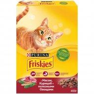 Корм для котов «Friskies» с мясом, курицей и овощами, 400 г