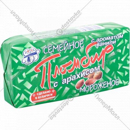 Мороженое «Семейное» с арахисом, 15%, 230 г.