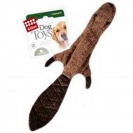 Игрушка для собак «GiGwi» шкурка бобра, с пищалкой, 45 см.