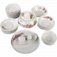 Сервиз столовый «Идиллия» 37 предметов, 2 вида тарелок.