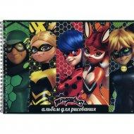 Альбом для рисования «Ladybug» LВ-AAS-40, 40 листов.