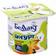 Йогурт детский «Беллакт» груша 3%, 100 г.