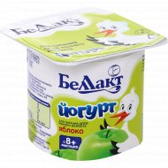 Йогурт детский «Беллакт» яблоко 3%, 100 г.