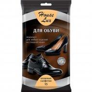 Салфетки влажные «House Lux» для обуви, 15 шт.