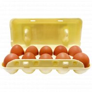 Яйца «Семейный завтрак» цветные С1, 10 шт