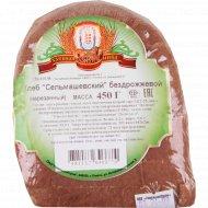 Хлеб «Сельмашевский» бездрожжевой нарезанный 450 г.
