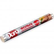 Фольга алюминиевая «Dora» для хранения и запекания пищи, 10 мх29 см.