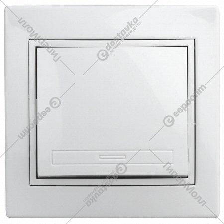 Выключатель «Intro» 1-101-01, 10А-250В, IP20, СУ.