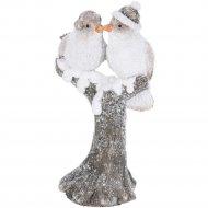 Статуэтка новогодняя «Belbohemia» Птички, 11.2х8.7х9.5 см.