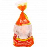 Тушка цыпленка-бройлера «Асобiна» охлажденная 1 кг., фасовка 1.9-2.4 кг