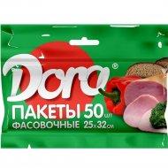 Пакеты фасовочные «Dora» 25х32 см, 50 шт.