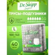 Подгузники-трусики для взрослых «Dr.Skipp» размер 3, 40 шт.