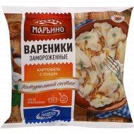 Вареники замороженные «Марьино» с картофелем, 400 г.
