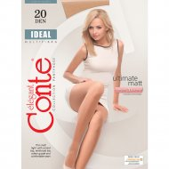 Колготки женские «Conte» Ideal, 20 den, размер 3, nero