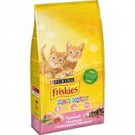 Корм для котят «Friskies» с курицей, молоком и овощами 2 кг.
