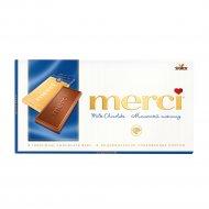 Молочный шоколад «Merсi» 100 г.