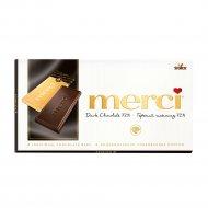 Горький шоколад «Merсi» 100 г.