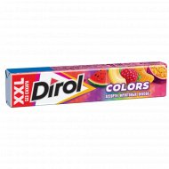 Жевательная резинка «Dirol» Mix XXL ассорти фруктовых вкусов, 19 г.