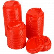 Крышки с закрытым питейником для стаканов 250 мл, 100 шт.