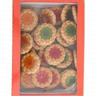 Печенье сахарное «С фруктовым мармеладом» 700 г.
