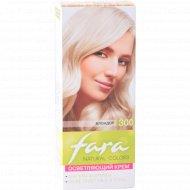 Крем осветляющий для волос «Fara Natural Color» тон 300 блондор.
