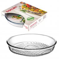 Форма для выпечки «Borcam» Grill, круглая, Д=260 мм.