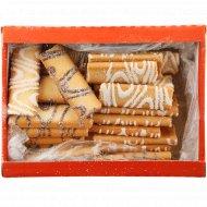 Печенье «В глазури с кокосовой стружкой» с начинкой, 700 г.