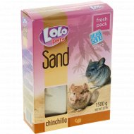 Песок для шиншилл «Lolo» 1500 г.