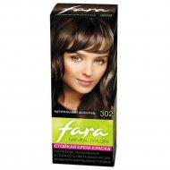 Крем-краска для волос «Fara Natural Color» тон 302 натуральный шоколад.