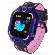 Часы-телефон с GPS KNV S16, фиолетовый.