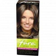 Крем-краска для волос «Fara Natural Color» тон 304, шоколад.